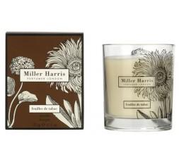 Miller Harris - Feuille de Tabac Bougie 185 gr