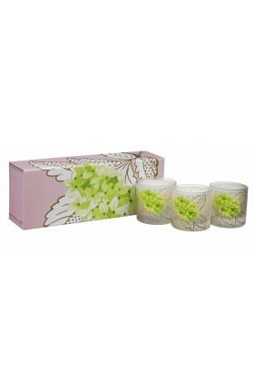 Designers Guild - Coffret de 3 bougies parfumées Lime Flower