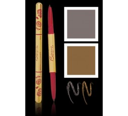 Besame - Eye Brow Pencil - Taupe & Gray