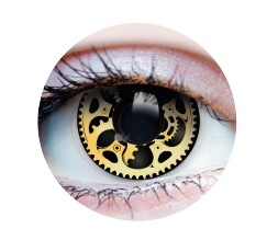 Contact Lenses - STEAMPUNK